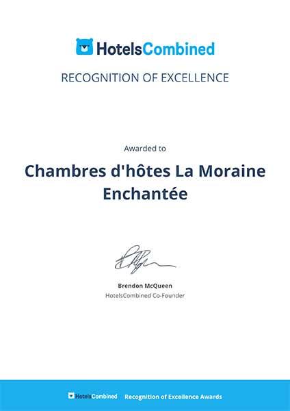 Chambres hotes La Moraine Enchantee